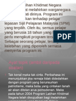 Program Latihan Khidmat Negara (PLKN)