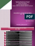 Evolución de La Tecnología Multimedia