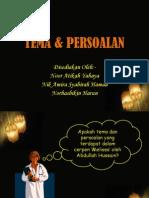 Tema & Persoalan