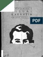 El Pensamiento Visual R Arnheim