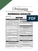 Leyes Del 6 de Julio Del 2014