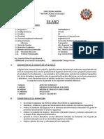 Universidad Andina Silabo 2014