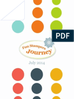 July 2014 Fun Stampers Journey Catalog!