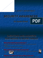 Sec. Awareness-bomb Threat