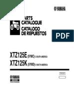 Catalogo Despiece Yamaha Xtz125 5YMC_&_5YMD_2007