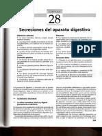 28. Secreciones Del Aparato Digestivo