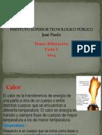 Clases de Dilatacion Ciclo I