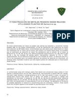 fitoextraccion salicornia