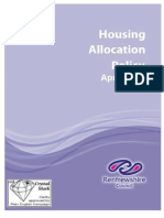 Housing AllocationPolicy