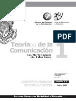 01 Teorias de La Comunicacion - Modulo 1