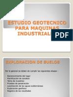Diapos Estudio Geotecnico Para Maquinas Industriales
