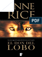 El Don Del Lobo (La Trama) - Anne Rice