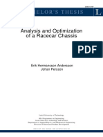 Analysis of Racecar Chassis