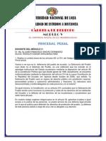 Unl. Proceso Penal 6 de Julio 2014