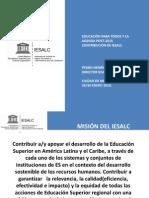 Agenda Educacion Superio Unesco