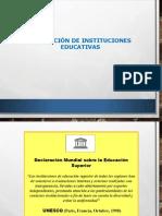 Evaluación de Las Instituciones Educativas