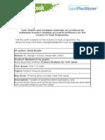 8 worksheet product analysis of fruit salad