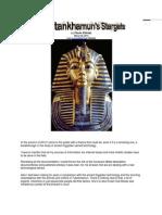 Pharaoh Tutankhamen's Stargate