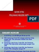 Etika Profesi Kode Etik Pns (1)