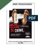 Dossier Pédagogique exposition Scène de crime