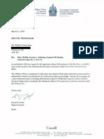 MPCC Certified Tribunal Records