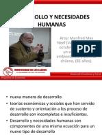 Desarrollo y Necesidades Humanas