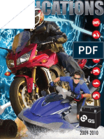 GS Battery App Guide-PowerSports 2009-2010