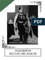 Sultan Sultan Johor untuk PSS