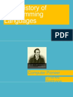 The Brief History of Programming Languages