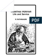 Thanthai Periyar Life and Service
