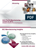 IDC MI- Manufacturing insights
