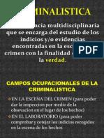 Curso Para Policias en Criminalistica