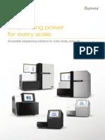 Brochure Sequencing Systems Portfolio