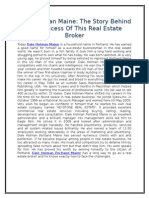 Dale Holman Maine- The Story Behind the Success of This Real Estate Broker