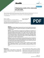 Urban Janlert & Anne Hammrström - Explanatory Models of the Relationship Between Unemployment and Health