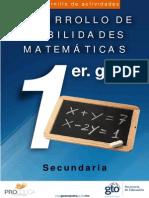 Cuadernillo Mat 1 Sec Web