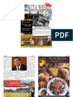 "Kuta Weekly-Edition 395 ""Bali""s Premier Weekly Newspaper"""