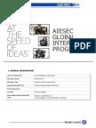AIESEC Internship Description Form