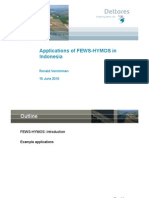 Applications of FEWS-HYMOS in Indonesia