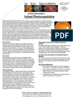 Retinal Photocoagulation