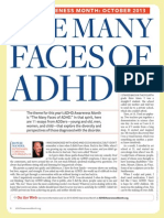 Many Faces of Adhd