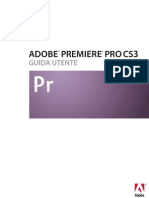 Adobe Premiere Pro CS3 Manual Italian