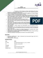 NTTM632 Anand Informatica-ETL Lead Resume