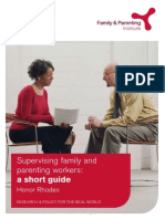 Supervising Family and Parenting Workers