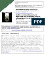 Muslims in Politics of Colonial Bihar-libre