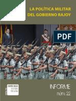 Politica Militar Gobierno Rajoy