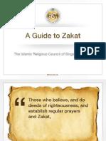 A Guide to Zakat MUIS Spore