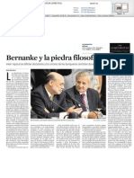 Bernanke y la piedra filosofal