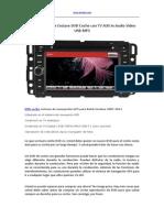 2007-2011 Buick Enclave DVD Coche Con TV AUX in Audio Video USB MP3
