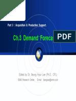 3. Demand Forecasting